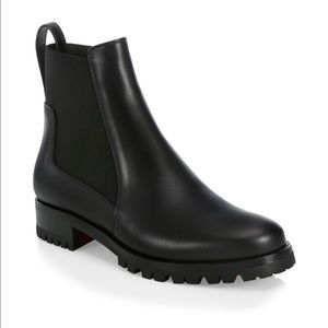 CHRISTIAN LOUBOUTIN ANKLE BOOTS ( FIRM PRICE )
